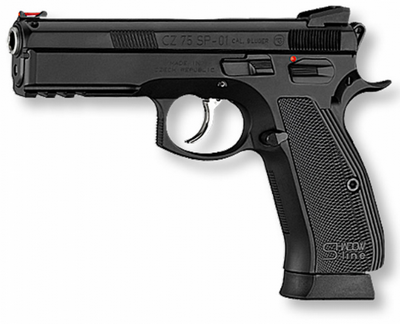 CZ 75 SP01 SHADOW LINE 9MM 19 COUPS