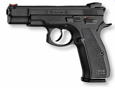 CZ 75 SHADOW LINE 9MM 17 COUPS