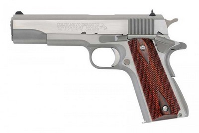 COLT 1911 A1 SERIES 70 GOVERNMENT INOX 45