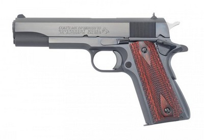 COLT 1911 A1 SERIES 70 GOVERNMENT BLUE 45