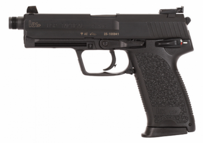 HECLER & KOCH HK USP TACTICAL 45 ACP 12 COUPS