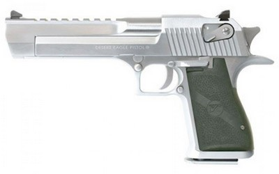 DESERT EAGLE MK19 50AE BRUSHED CHROME 7 COUPS