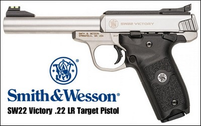 SMITH & WESSON SW22 VICTORY 22LR 10 COUPS