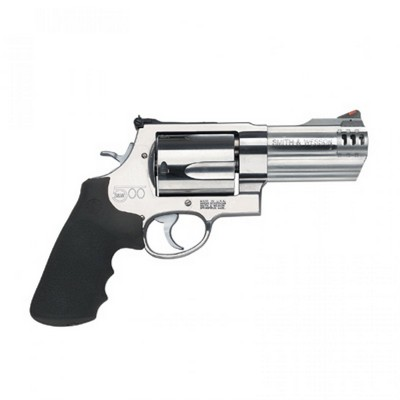 SMITH & WESSON 500 4'' 500 MAGNUM 5 COUPS