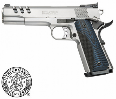 SMITH & WESSON 1911 PC CUSTOM 45 ACP 8 COUPS