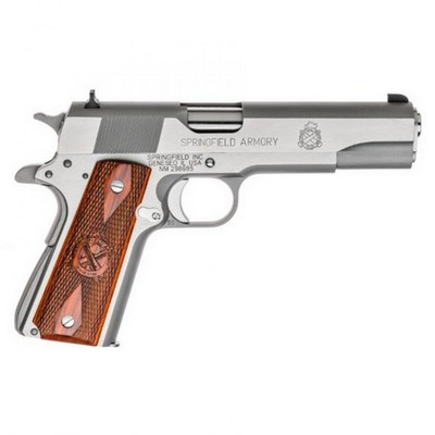 SPRINGFIELD ARMORY 1911 A1 MIL SPEC INOX 45 ACP 7 COUPS