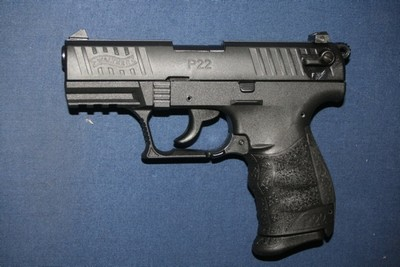 WALTHER P22Q 22LR 10 COUPS