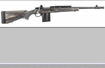 RUGER GUNSITE SCOUT RIFLE  308 WIN 10 COUPS