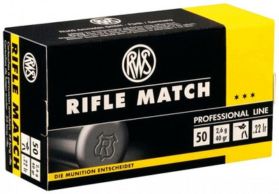 RWS 22 LR RIFLE MATCH PAR 500