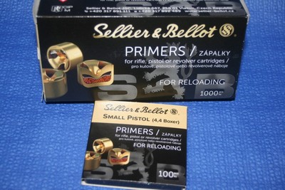 SELLIER BELLOT SMALL PISTOL PAR 1000