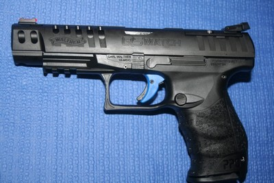 WALTHER Q5 MATCH 9MM 15 COUPS