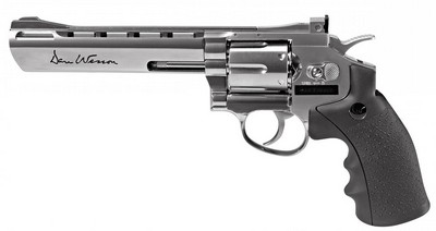 ASG DAN WESSON 6'' CHROME 4.5