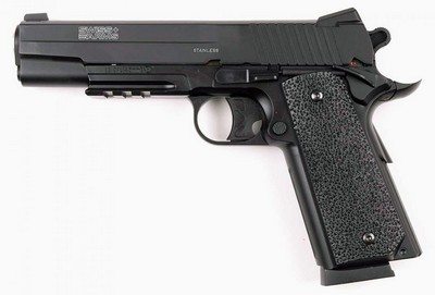 SWISS ARMS P1911 BK BILLE BB'S 21 CPS