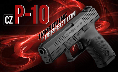 CZ P-10C 9MM 15 CPS NEW 2017