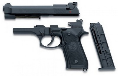 BERETTA CONVERSION  92FS 22LR 10 CPS