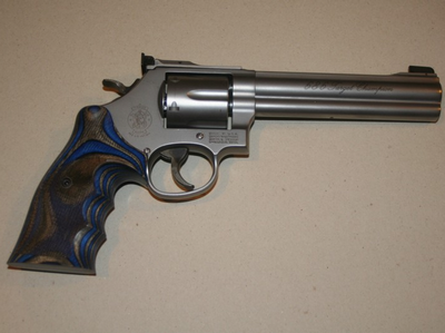 SMITH & WESSON 686 TARGET CHAMPION 357 MAGNUM
