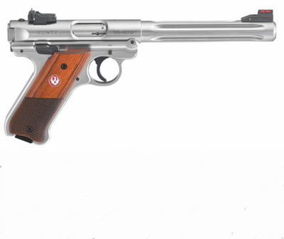 RUGER MARK IV HUNTER INOX 22LR 10 COUPS