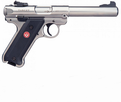 RUGER MARK IV INOX 22LR 10 COUPS