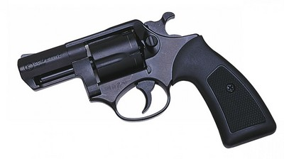 COMPETITIVE Bronzé Revolver 9MM BLANC