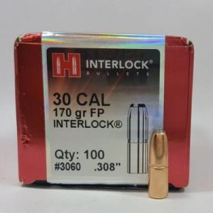 HORNADY 30 308 170GR SP INTERLOCK