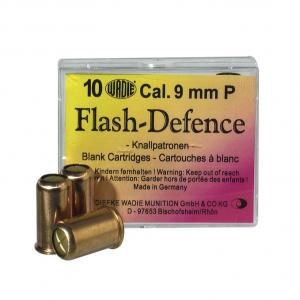 CARTOUCHE 9MM PA FLASH DEFENSE