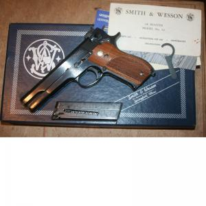 SMITH & WESSON MOD.52 38 WC