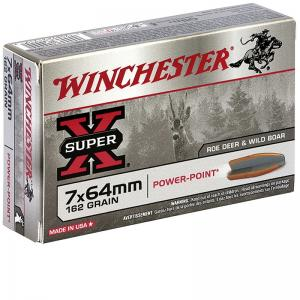 WINCHESTER CAL. 7X64 162GR POWER POINT