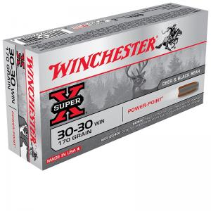 WINCHESTER CAL.30-30 170GR POWER POINT