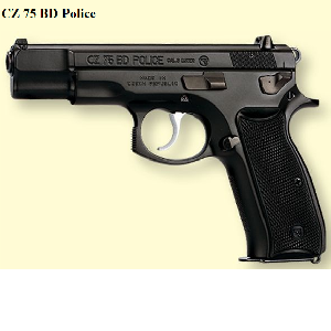 CZ 75 BD POLICE 9MM 16 COUPS